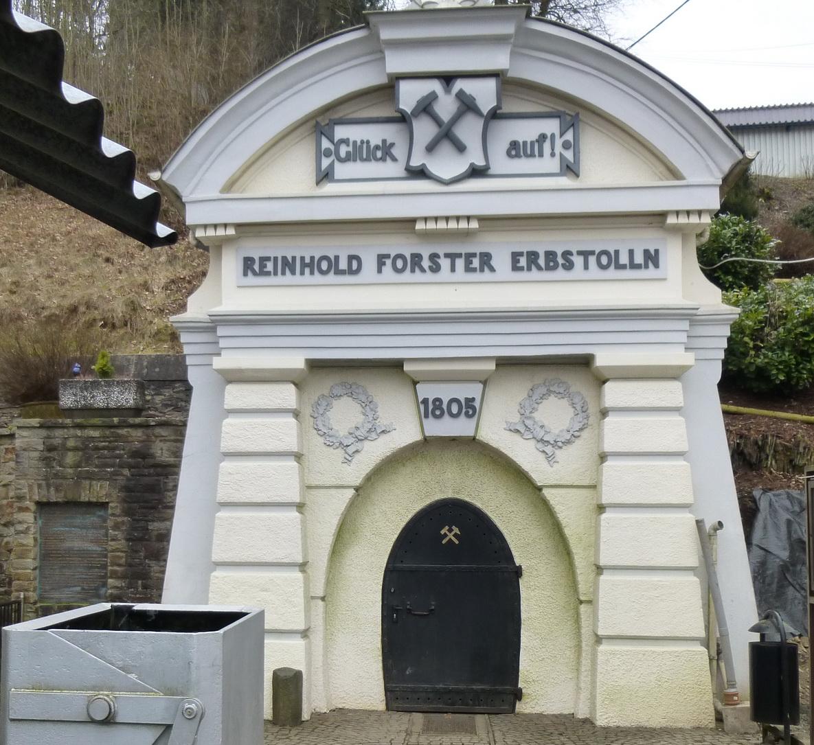 Stolleneingang Reinhold-Forster Erbstollen Eiserfeld