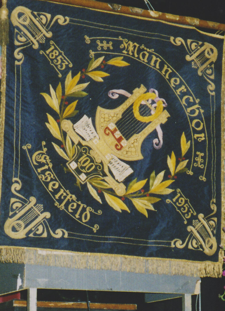 Vereinsfahne MC 1853 Eiserfeld