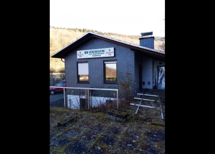Unser neues Vereinsheim(früher DJK Eiserfeld)