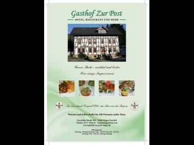 Gaststätte Zur Post Eiserfeld(Link)