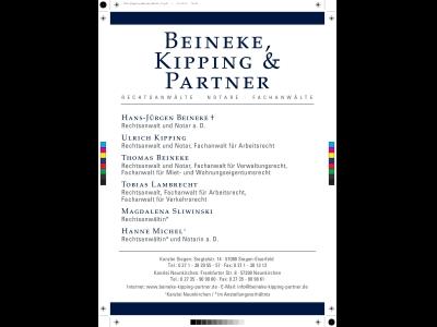 Ra Beinecke und Partner(Link)