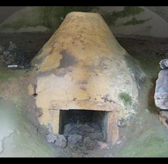 Lateineofen der alten Kelten